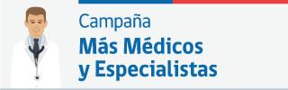 Más Médicos y Especialistas