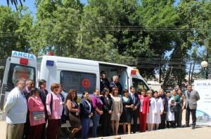 Hospital de Los Andes recibió nueva ambulancia para traslado de pacientes